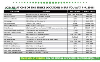 Afscme3299picketlocations